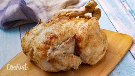 Whole chicken in milk: the best chicken recipe of all time!