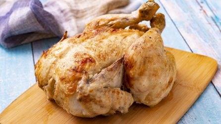 Pollo al latte: come cucinare un pollo intero ed ottenerlo morbido e saporito!