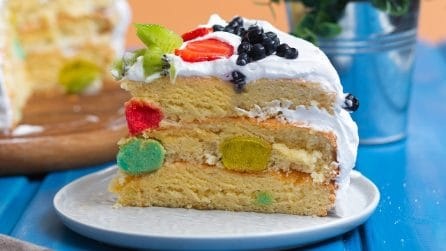 Pan di spagna alla crema: il dolce perfetto per una festa di compleanno!