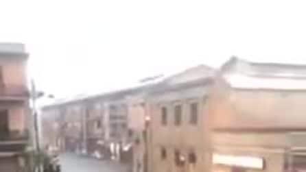 Maltempo Sardegna, strade allagate a Pirri dopo il nubifragio
