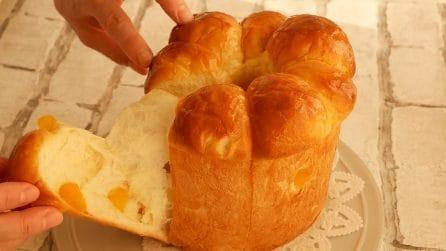 Morbido e soffice pane alle mele: perfetto da abbinare alla crema al cioccolato