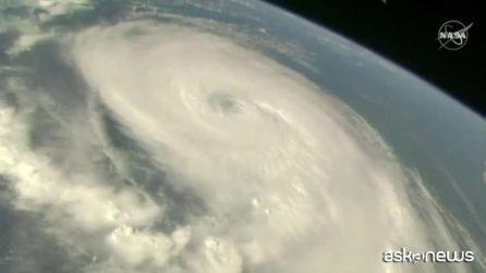 Uragano Dorian visto dallo spazio: le spettacolari immagini