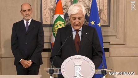 Conte ha accettato l'incarico, giovedì giuramento nuovo governo