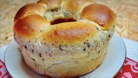 Pan brioche con gocce di cioccolato: perfetto per la merenda e la colazione