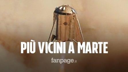 Starhopper, è un successo il test dell'astronave che porterà l'uomo su Marte