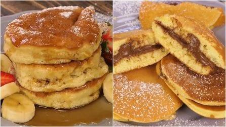 3 ricette facili e veloci per preparare i pancakes più soffici della vostra vita!