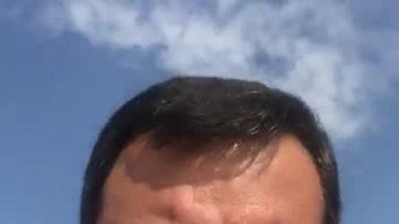 """Salvini: """"Ho lasciato il Viminale e qualcuno piangeva"""""""