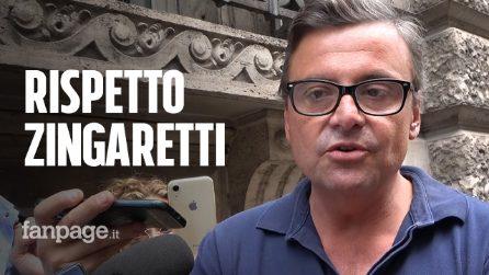 """Governo, Calenda: """"Rispetto Zingaretti, ha fatto quello che voleva il Pd"""""""
