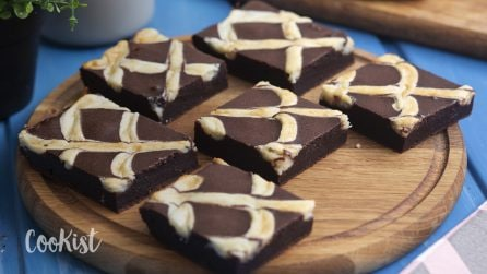 Chocolate cream squares: they are seriously irresistible!