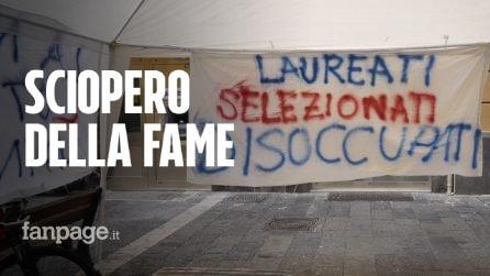 """Navigator in Campania senza lavoro: """"Siamo in sciopero della fame da 4 giorni"""""""