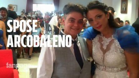 Prima unione civile a Gioia Tauro: la favola di Lina e Pina, in paese è festa grande