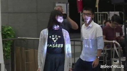 Hong Kong, proibite manifestazioni e arrestati leader protesta