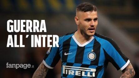 Mauro Icardi fa causa all'Inter: chiede 1,5 milioni di euro di danni e il reintegro nella rosa