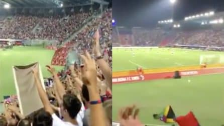 Mihajlovic al Dall'Ara: la standing ovation dei tifosi
