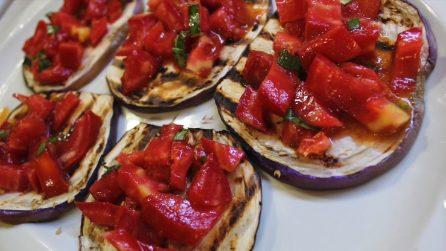 Bruschette di melanzane: così non le hai mai provate