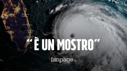 """Uragano Dorian minaccia gli Usa, primo ministro Bahamas: """"Un mostro, pregate per noi"""""""