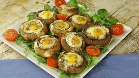 Funghi con uova di quaglia: dei bocconcini saporiti da preparare come antipasto!