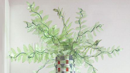 Pianta di plastica: come riciclare delle bottiglie in pochi minuti!