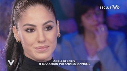 """Verissimo, Giulia De Lellis: """"Andrea Iannone è la mia metà"""""""