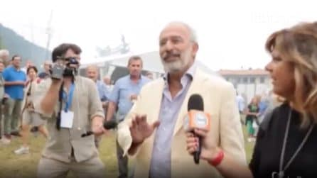 """Gad Lerner insultato a Pontida: """"Non sei italiano, sei un ebreo"""""""