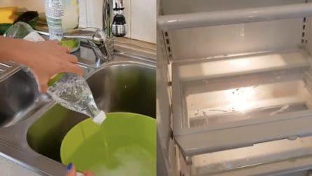 Come pulire il frigo e rimuovere i cattivi odori
