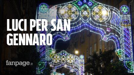 """Luci a Via Duomo per la Festa di San Gennaro 2019: """"Dopo 70 anni ritornano le luminarie"""""""