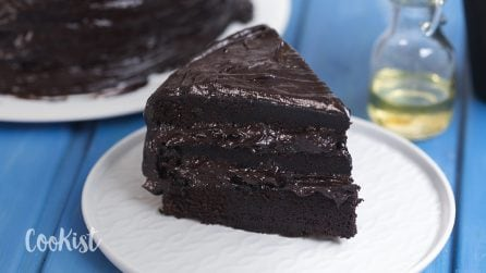 Dark chocolate cake: here's the dessert of your dreams!
