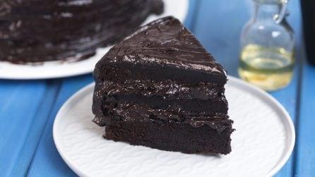 Torta extra cioccolato: 3 strati di pura golosità!