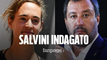"""""""Fuorilegge assassina"""", Matteo Salvini indagato per diffamazione nei confronti di Carola Rackete"""