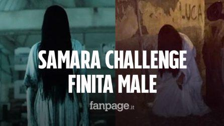 Samara Challenge, mamma fa travestire la figlia da bimba indemoniata e semina il panico: denunciata