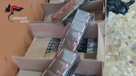 Mezza tonnellata di sigarette di contrabbando nascosta in garage a Qualiano: arrestato