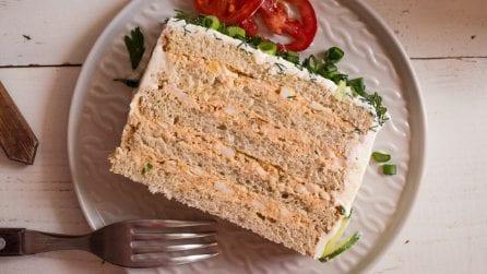 Torta tramezzino salata: pochi e semplici ingredienti per un risultato super gustoso!