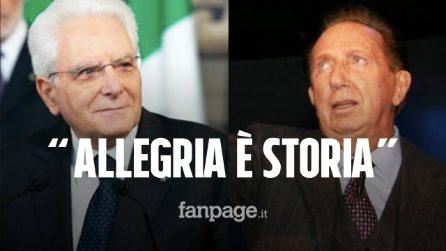 """Il presidente Mattarella ricorda Mike Bongiorno: """"Un pioniere della televisione"""""""