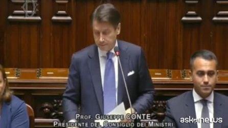 """Conte contestato alla Camera al grido di """"poltrona"""" e """"elezioni"""""""