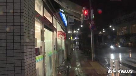 Giappone, tifone Faxai su Tokyo: blackout e venti a 210 km orari