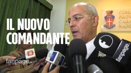 """Si insedia La Gala, nuovo comandante provinciale dei carabinieri: """"Napoletani, denunciate le illegalità"""""""