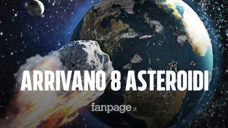Otto asteroidi sorvoleranno laTerra in queste ore: ecco cosa c'è da sapere e quali sono i rischi