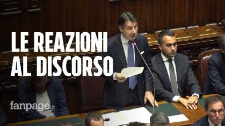 Le reazioni al discorso di Conte: la freddezza dei renziani e le proteste di Lega e FdI