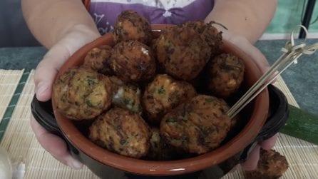 Polpette di zucchine: un secondo piatto da leccarsi i baffi