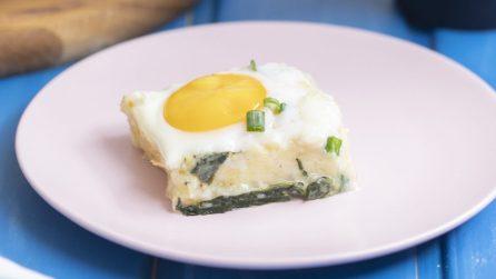Sformato di spinaci, patate e uova: la ricetta cremosa e saporita da provare!