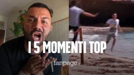 """Dalla fuga di Ciro Petrone al """"cuore"""" di Er Faina: i 5 momenti top di Temptation Island Vip"""