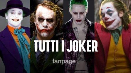 Da Cesar Romero a Joaquin Phoenix: tutti gli attori che sono stati Joker al cinema