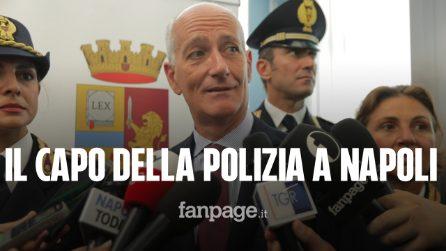 """Il capo della Polizia Franco Gabrielli: """"Come dar torto a parenti del vigilante ucciso?"""""""