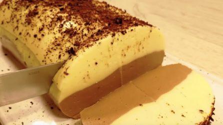 Semifreddo limone e cioccolato: un dessert goloso e senza cottura