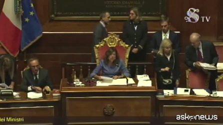 Conte bis, il Senato approva la fiducia: 169 voti favorevoli, 133 contrari
