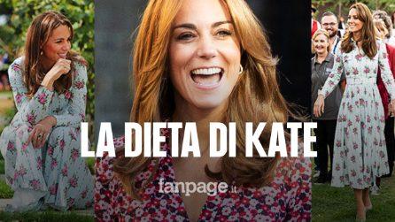 La dieta di Kate Middleton: ecco come si tiene in forma la principessa più amata del mondo