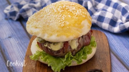 Cheese buns burger: this will completely change the way you prepare burgers!