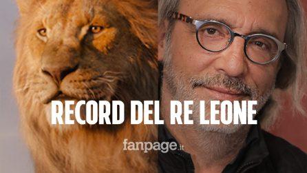 """Re Leone è record su Avengers. Luca Ward: """"Successo annunciato, le ragazze si tatuano le mie frasi"""""""
