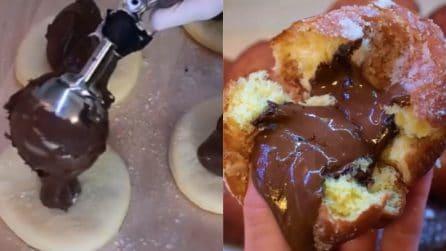 Brioche fritte ripiene al cioccolato: resistere sarà impossibile