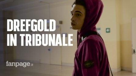"""Milano, DrefGold in tribunale a processo per droga: """"Era per uso personale"""""""